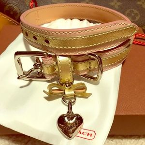 Coach Dog Collar - New with gift box